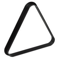 Треугольник для пула Стандарт пластик черный ø57.2мм