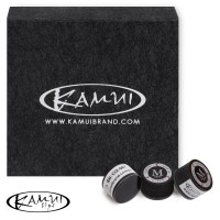 Наклейка для кия Kamui Clear Black ø13мм Medium 1шт.