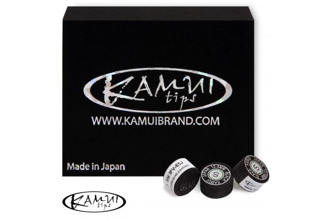 Наклейка для кия Kamui Black ø12.5мм Soft 1шт.