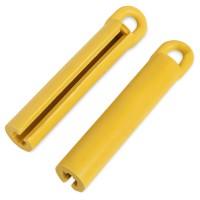 Держатель для кия резиновый желтый 105мм