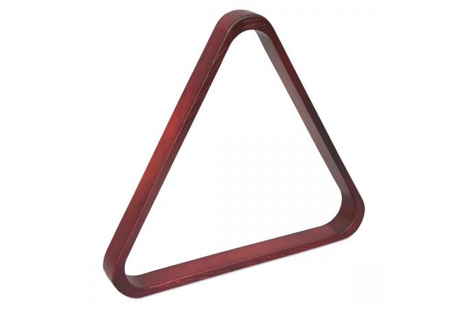 Треугольник для пула Classic дуб махагон ø57.2мм