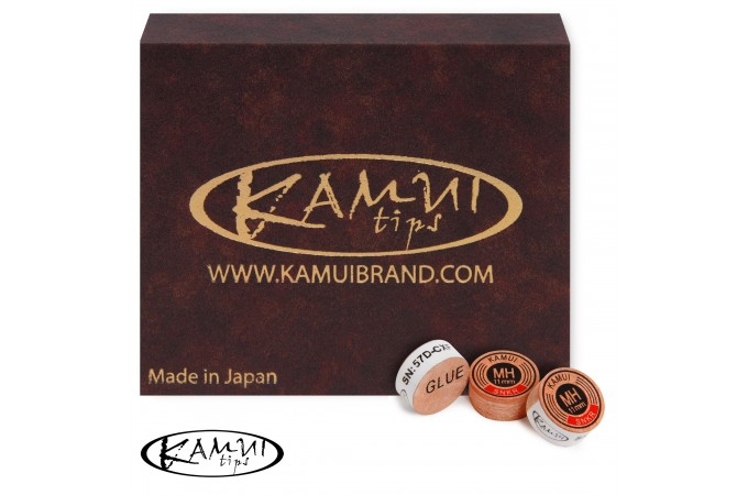 Наклейка для кия Kamui Snooker Original ø11мм Medium/Hard 1шт.