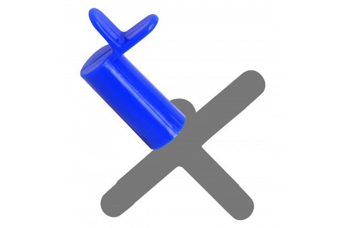 Насадка на мост для кия пластик синяя