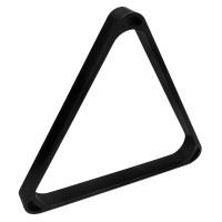 Треугольник для пула УСИЛЕННЫЙ пластик черный ø57.2