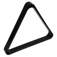 Треугольник для снукера УСИЛЕННЫЙ пластик черный ø52.4 мм