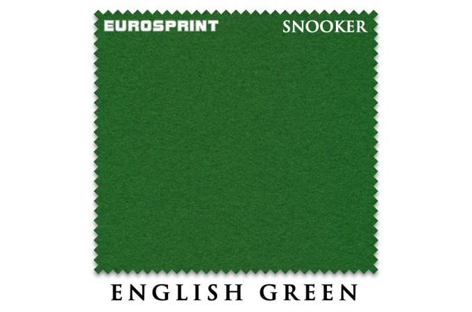 Сукно для снукера Eurosprint Snooker 1190 197см Yellow Green