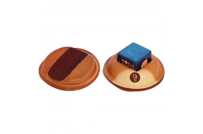 Инструмент для обработки наклейки-держатель для мела SX-3 кожаный