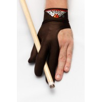 Перчатка Skiba Vistory вставки на пальцах коричневая M/L