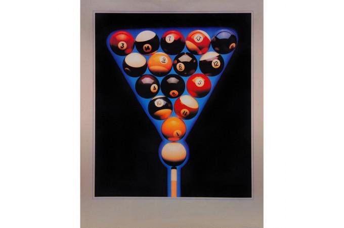 Постер Balls in Blue 76×60см