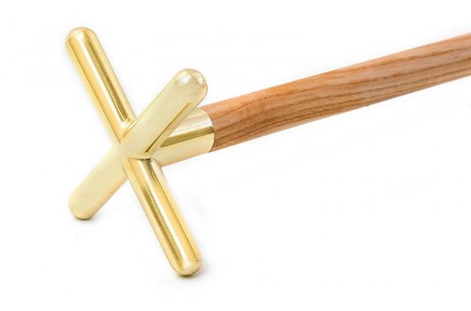 Теща в сборе латунь крестик 180см