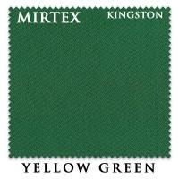 Бильярдное сукно Mirtex Kingston 200см Yellow Green