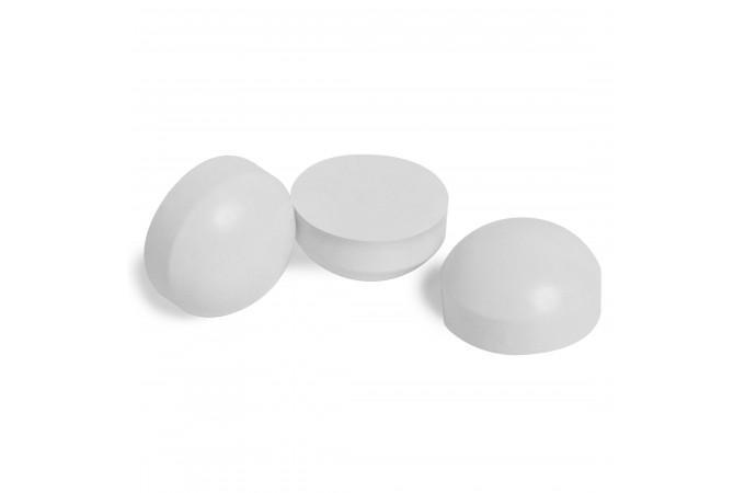 Бампер сменный резиновый для кия ø22мм белый 1шт.