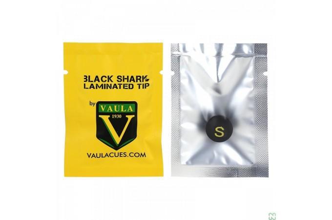 Наклейка для кия Vaula Black Shark ø14мм Soft
