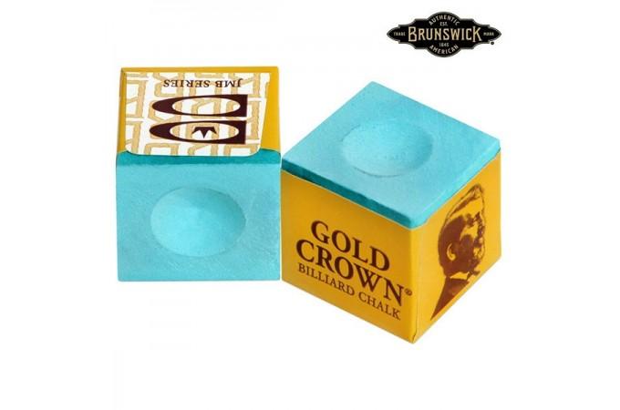 Мел Brunswick Gold Crown Green 1шт.
