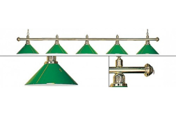 Лампа Evergreen 5 плафонов