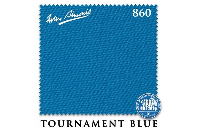 Сукно Iwan Simonis 860 198см Tournament Blue
