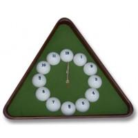 Часы бильярдные 6