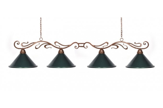 Лампа Антик 4 плафона