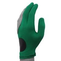 Перчатка Joe Porper`s кожаная вставка зеленая безразмерная