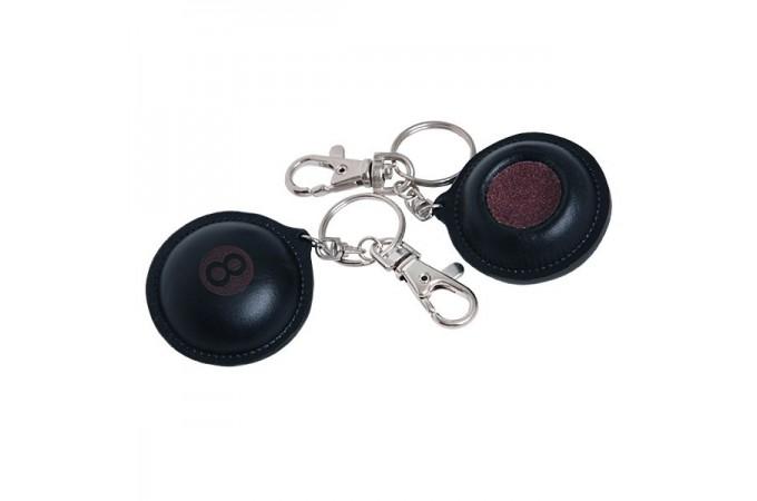 Брелок-инструмент для обработки наклейки №8 кожаный