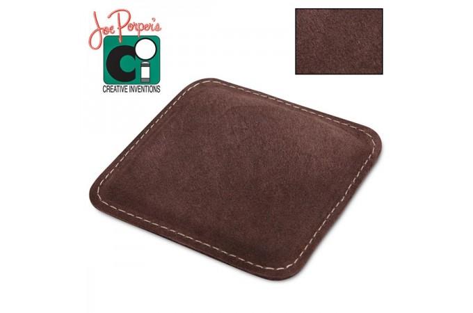 Губка для чистки и полировки кия Joe Porper`s Shaft Polisher замшевая коричневая