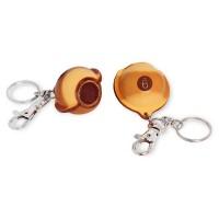 Брелок-инструмент для обработки наклейки BALL №9 кожаный