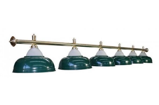 Лампа Luxury Green 4 плафона