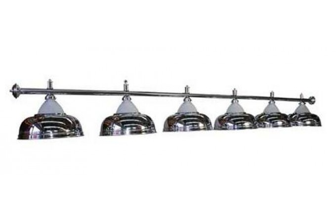 Лампа Luxury Silver 6 плафонов