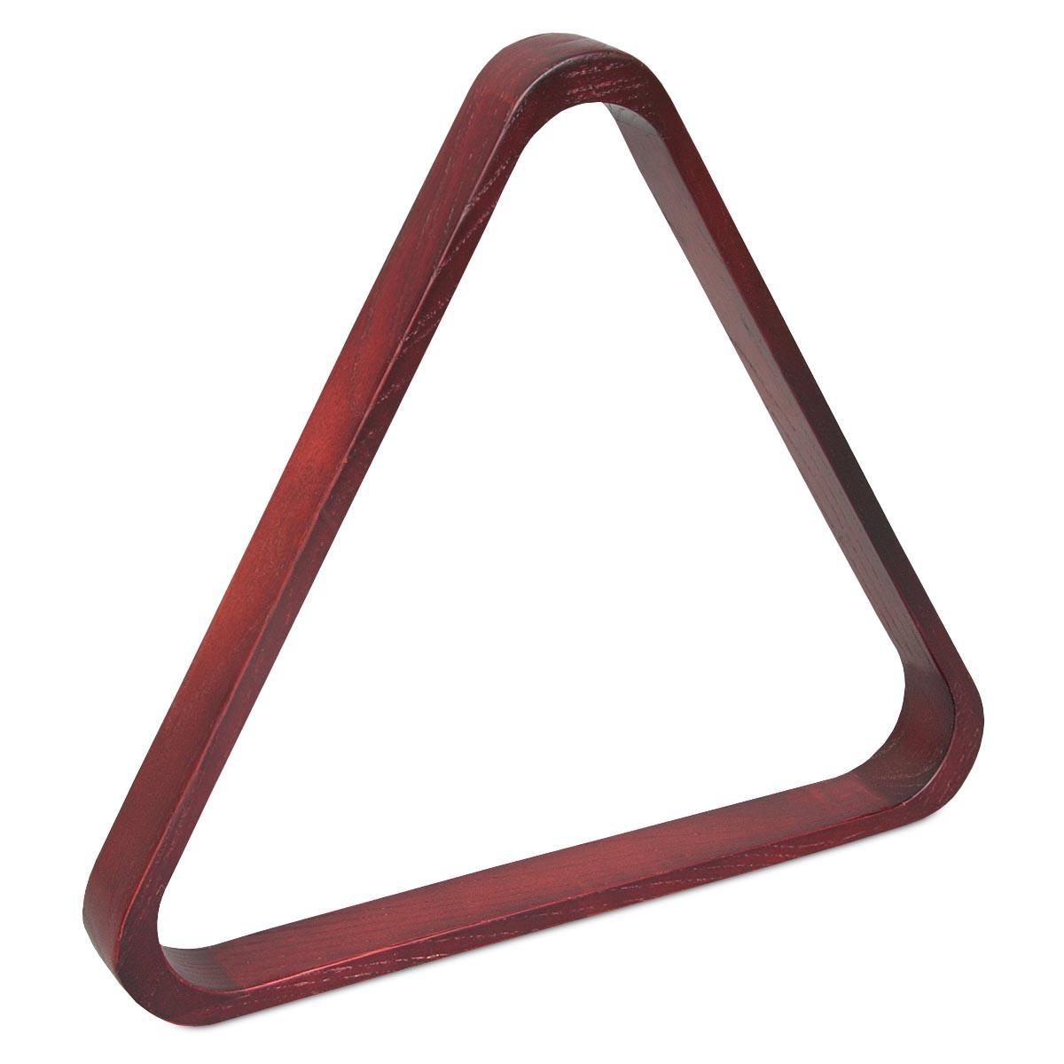 Треугольник для русского бильярда Classic дуб махагон ø68мм