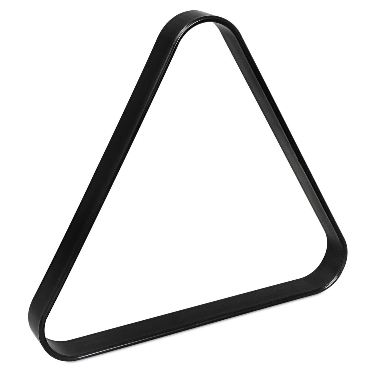 Треугольник для русского бильярда Стандарт пластик черный ø68мм