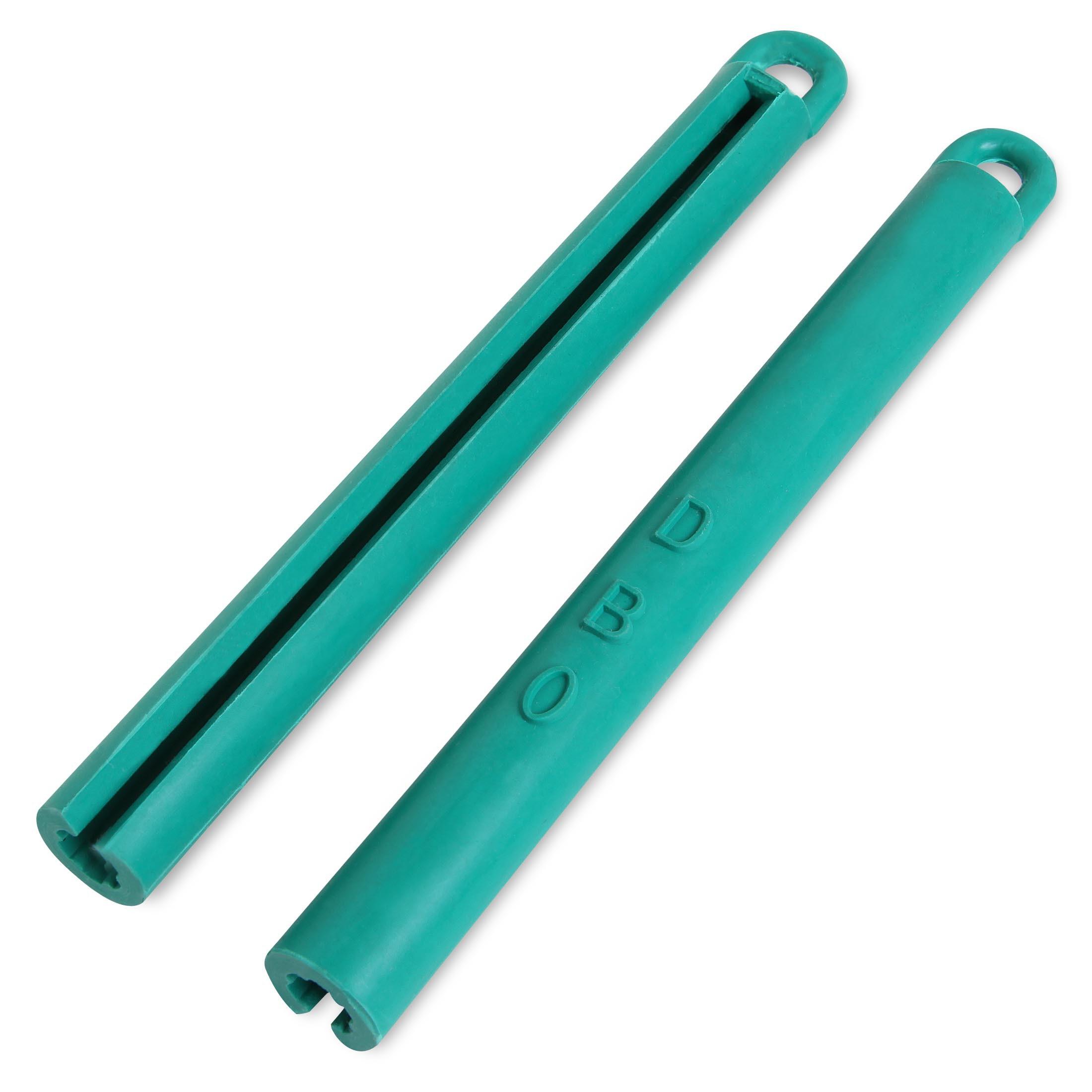 Держатель для кия резиновый зеленый 195мм