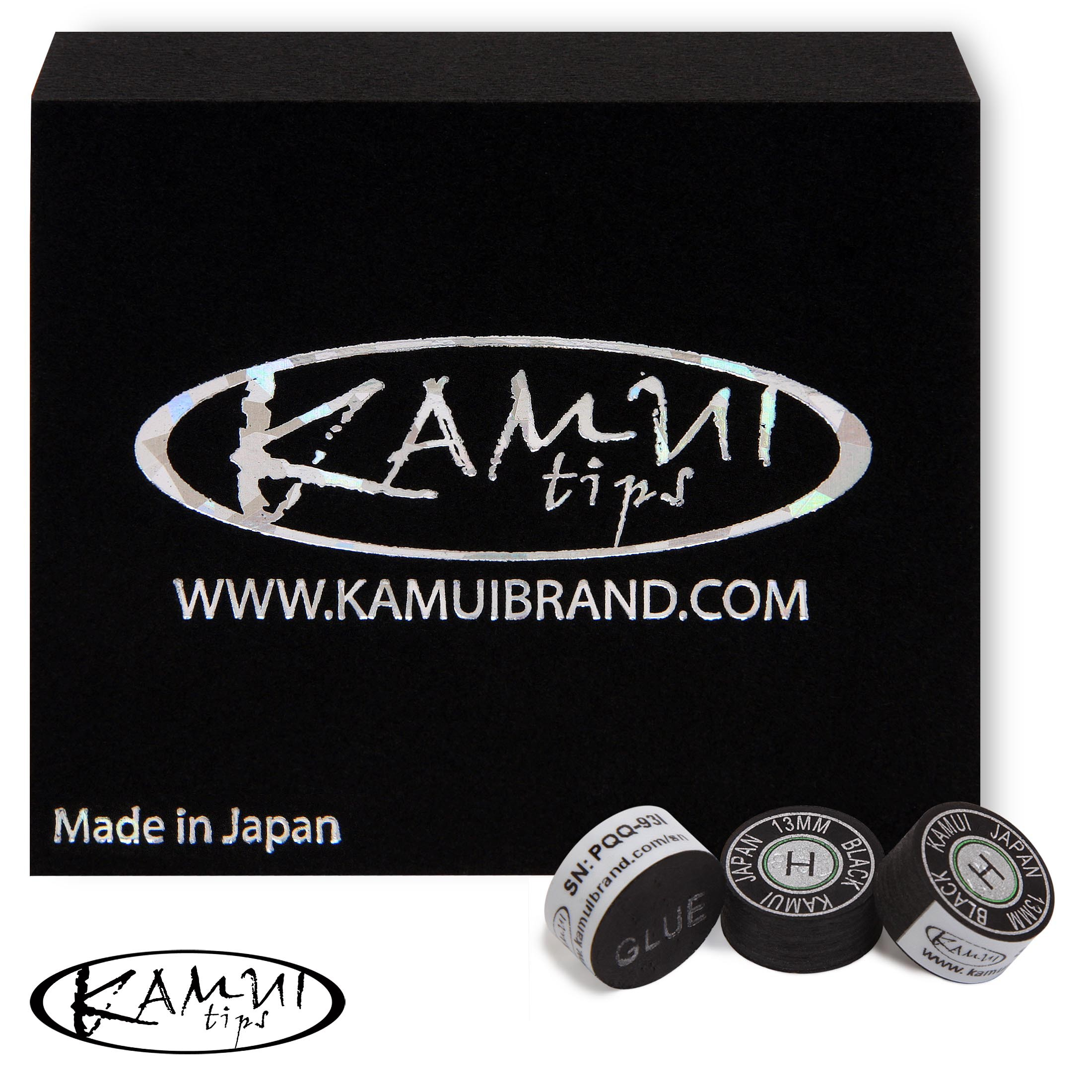 Наклейка для кия Kamui Black ø13мм Hard 1шт.