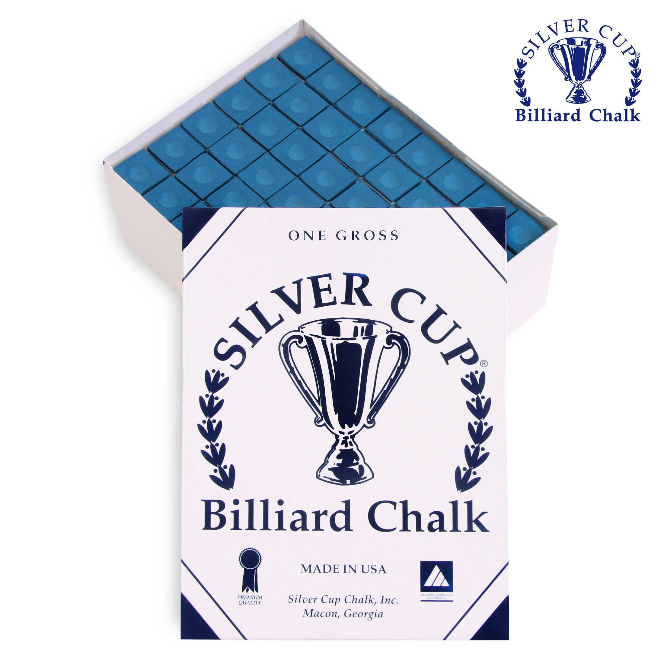 Мел Silver Cup Blue 144шт.