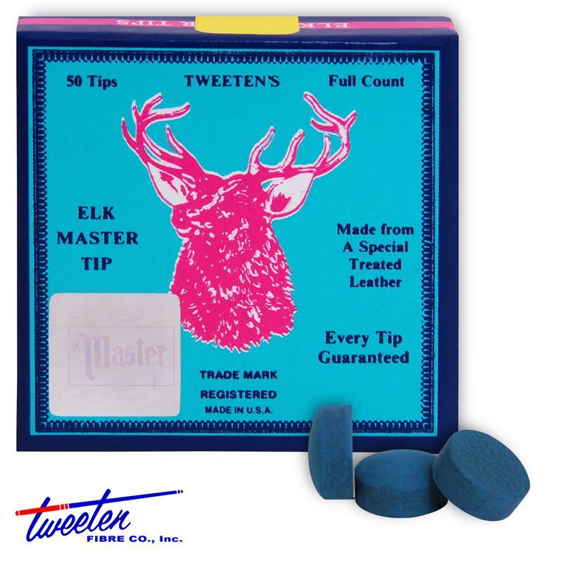 Наклейки для кия Elk Master ø12,5мм 50шт.