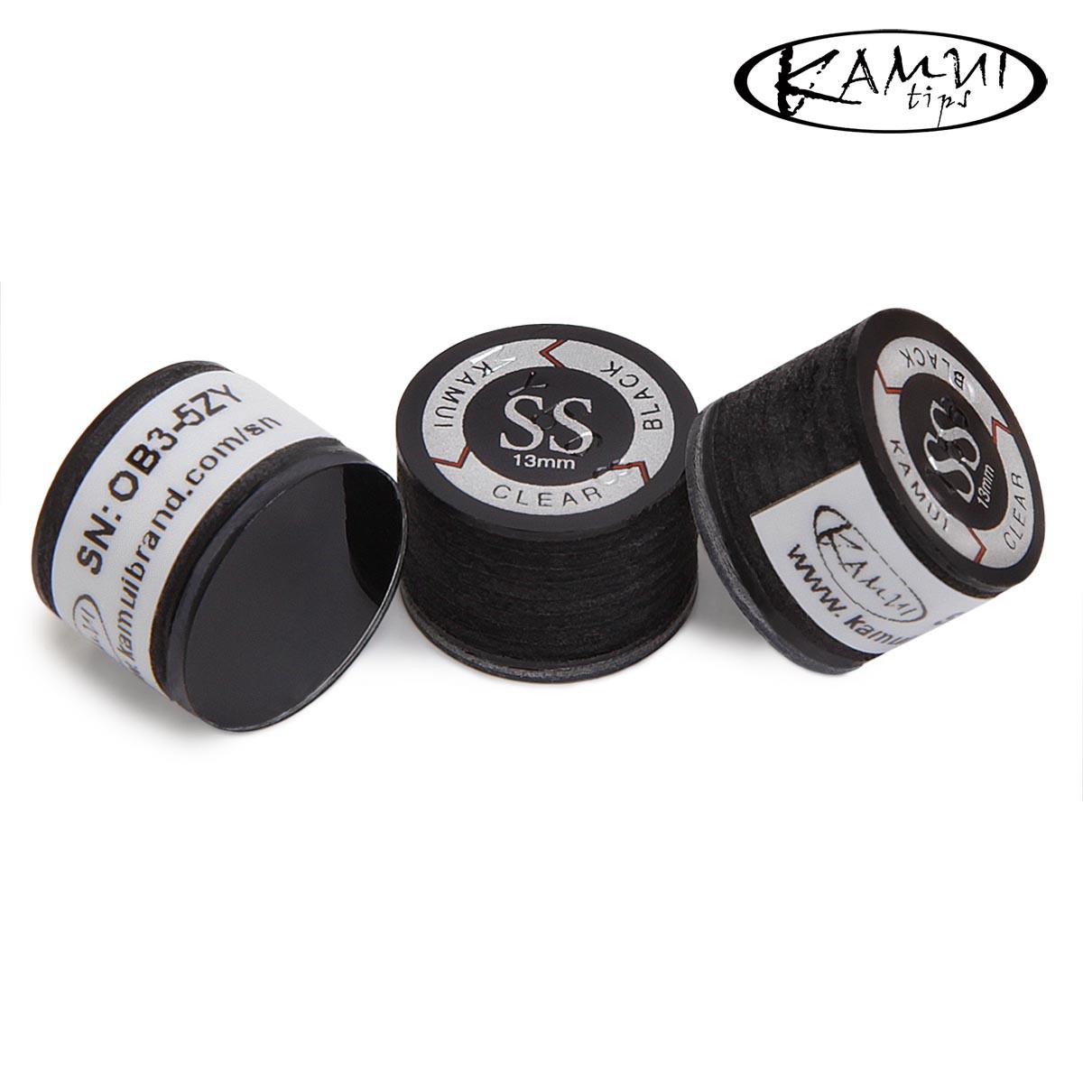 Наклейка для кия Kamui Clear Black ø13мм Super Soft 1шт.