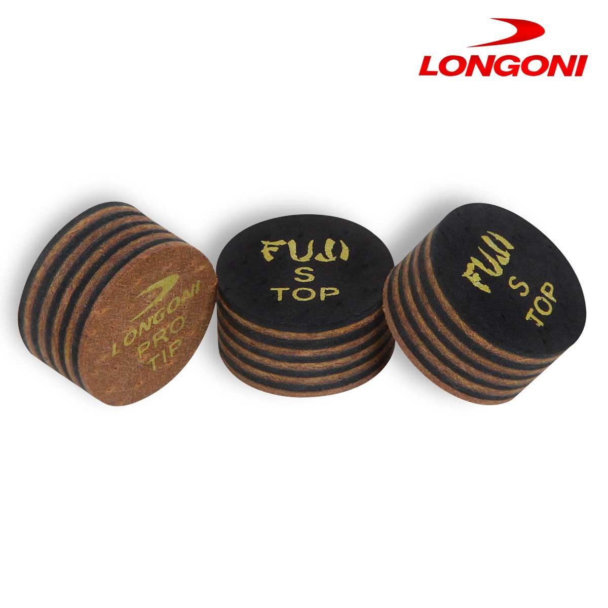 Наклейка для кия Longoni Fuji Camogli ø14мм Soft 1шт.