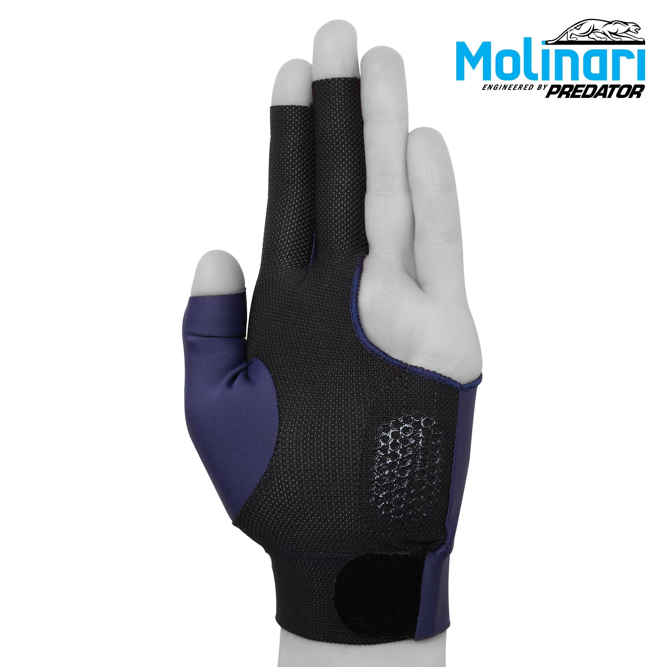 Перчатка Molinari темно-синяя безразмерная