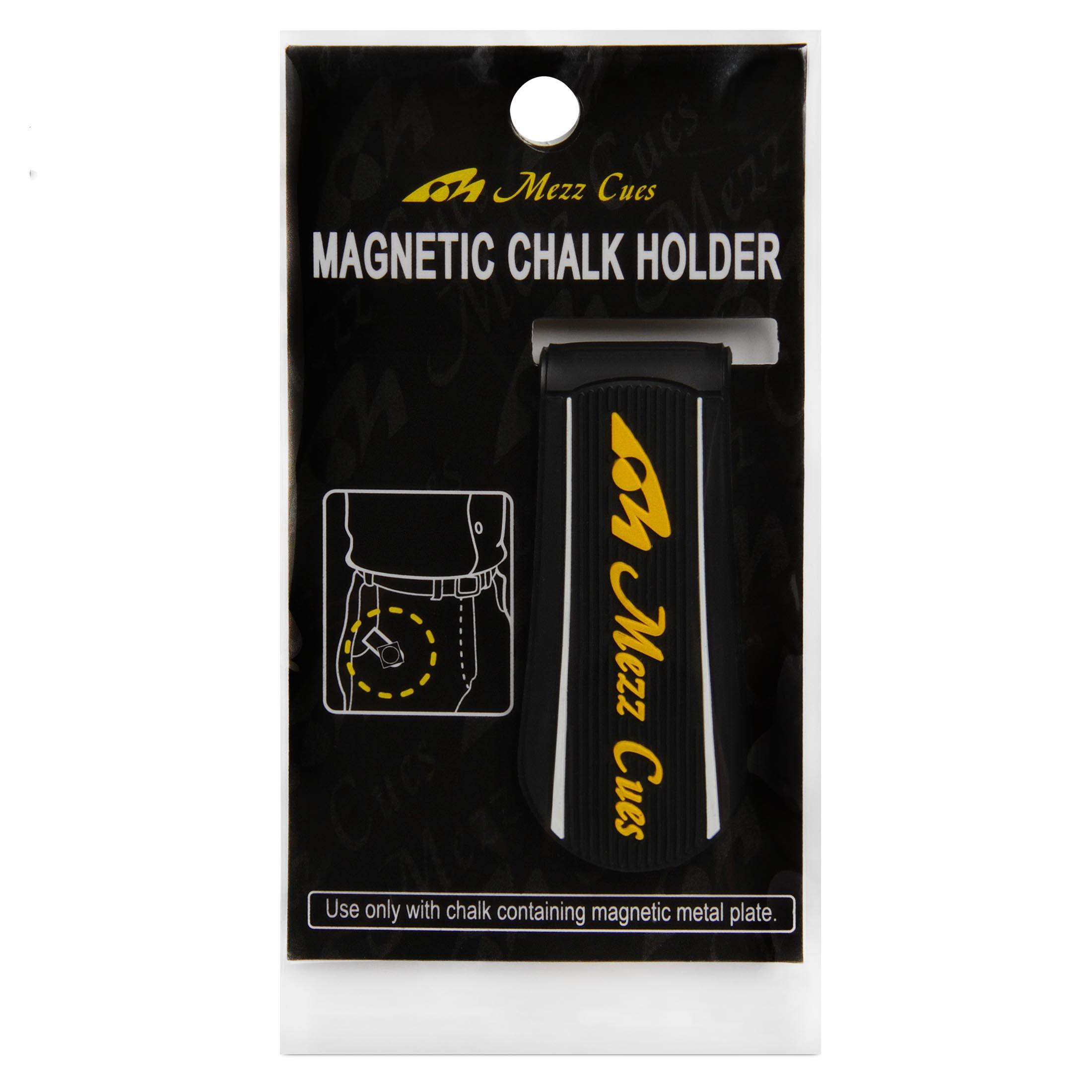 Держатель для мела Mezz Magnetic Chalk Holder черный/желтый