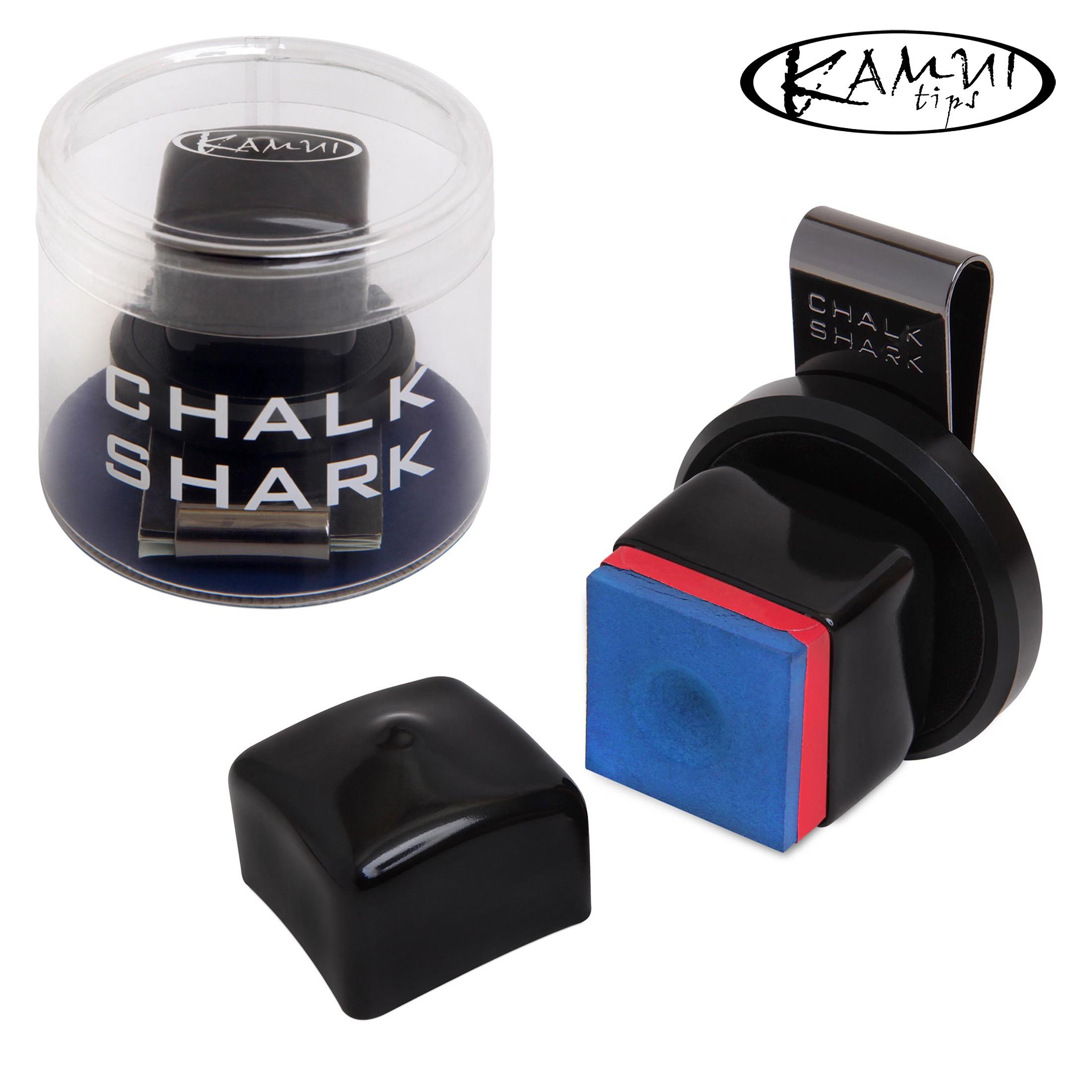 Держатель для мела Kamui Chalk Shark черный