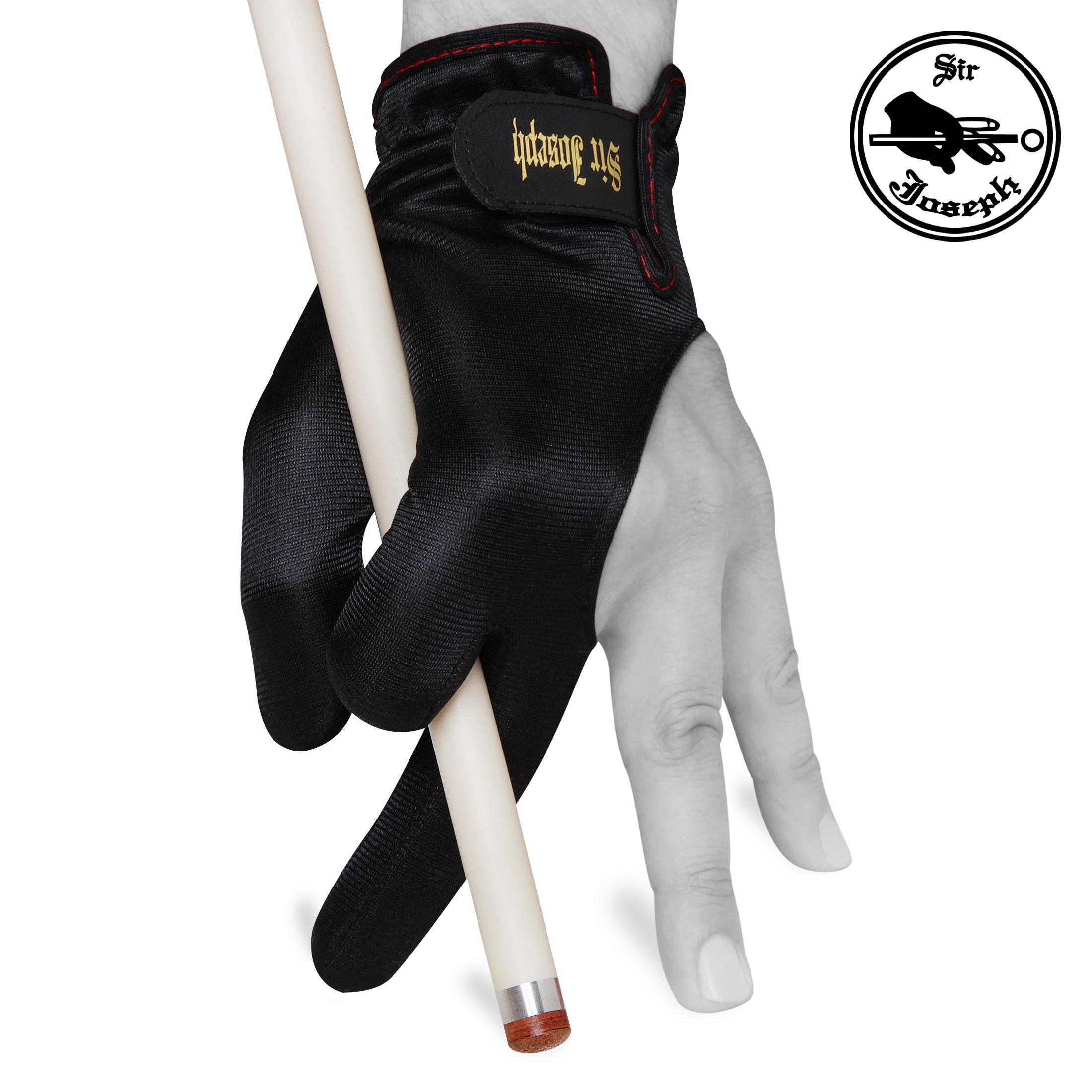 Перчатка Sir Joseph De Luxe Velcro черная M