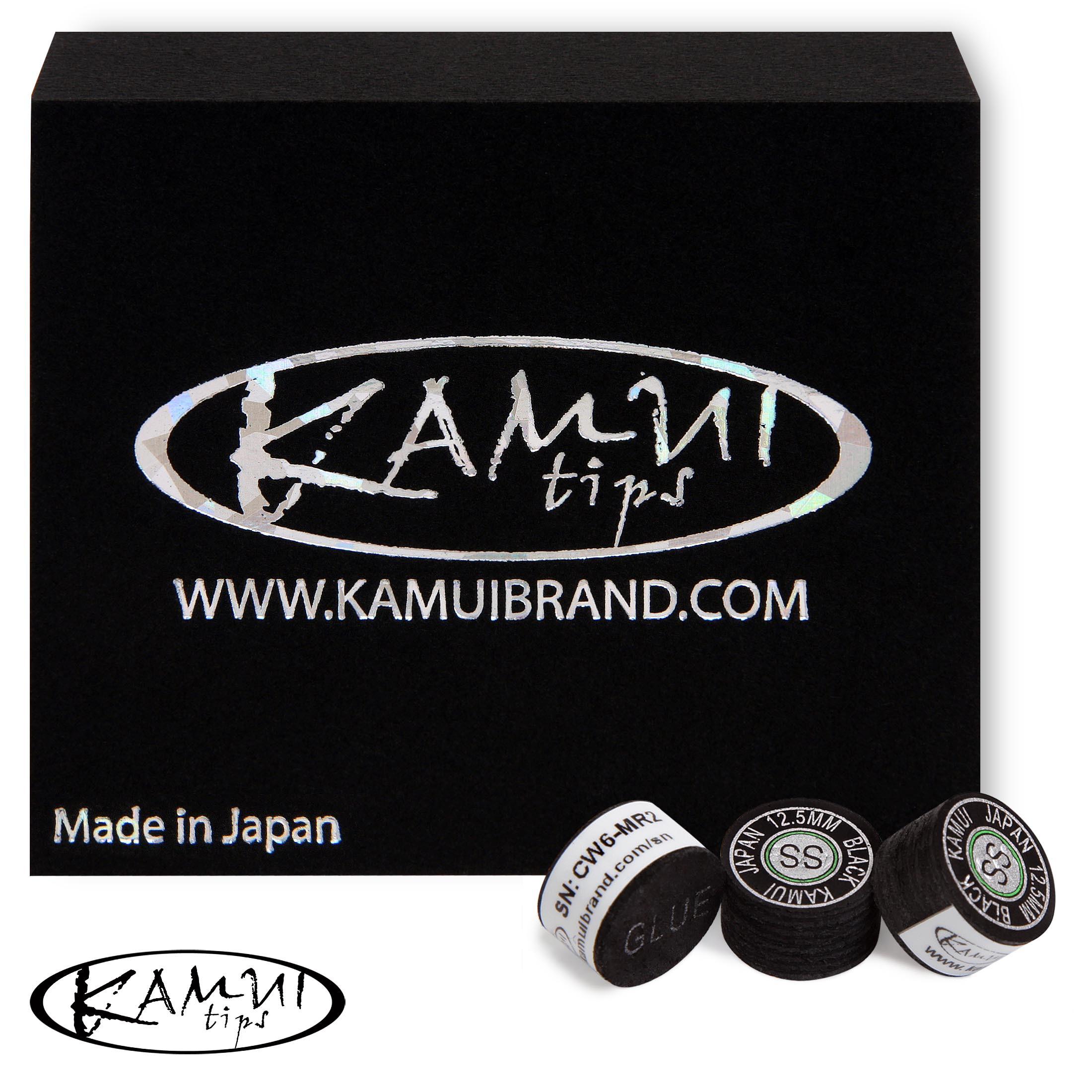 Наклейка для кия Kamui Black ø12.5мм Super Soft 1шт.