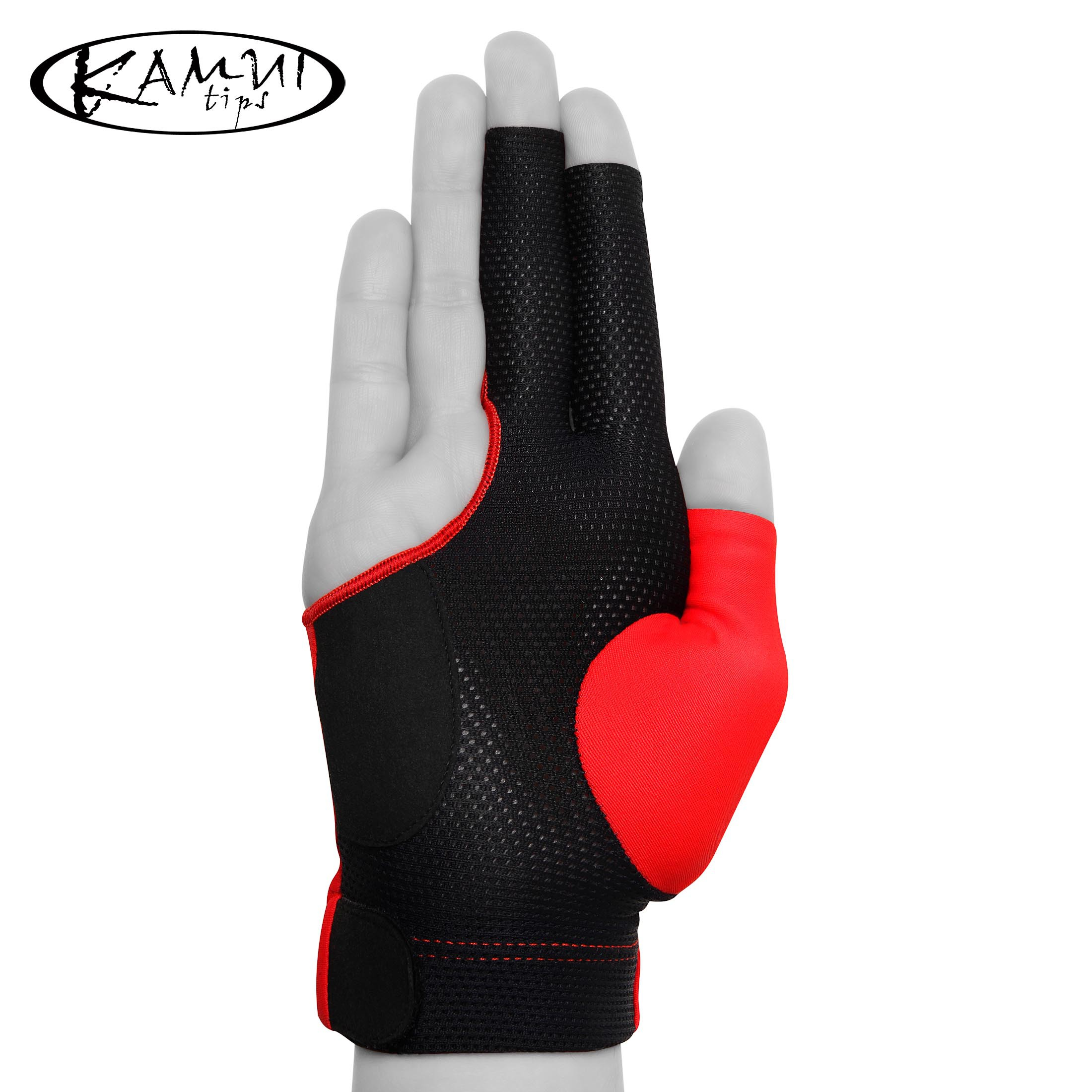 Перчатка Kamui QuickDry красная правая (для левши) L