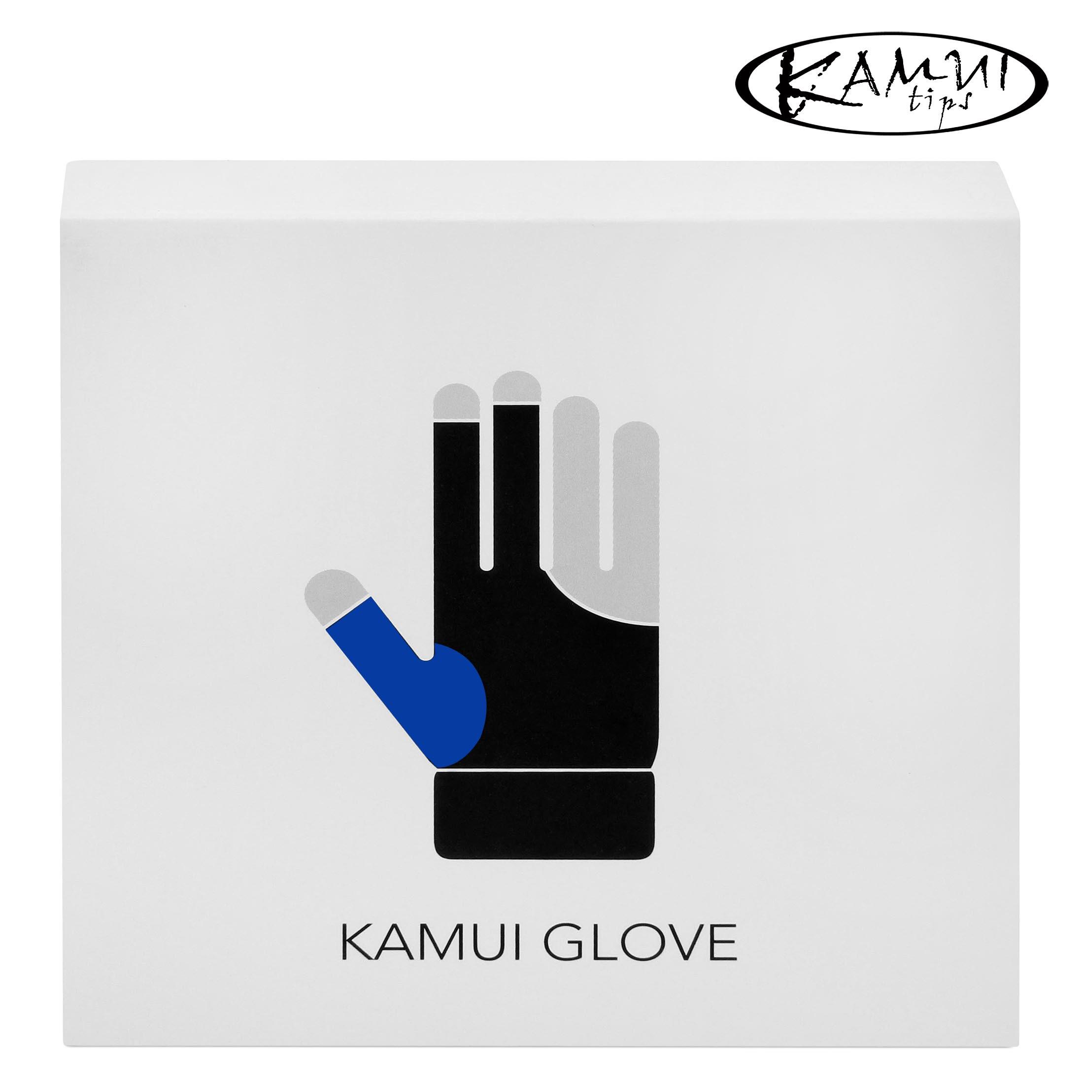 Перчатка Kamui QuickDry синяя правая (для левши) L