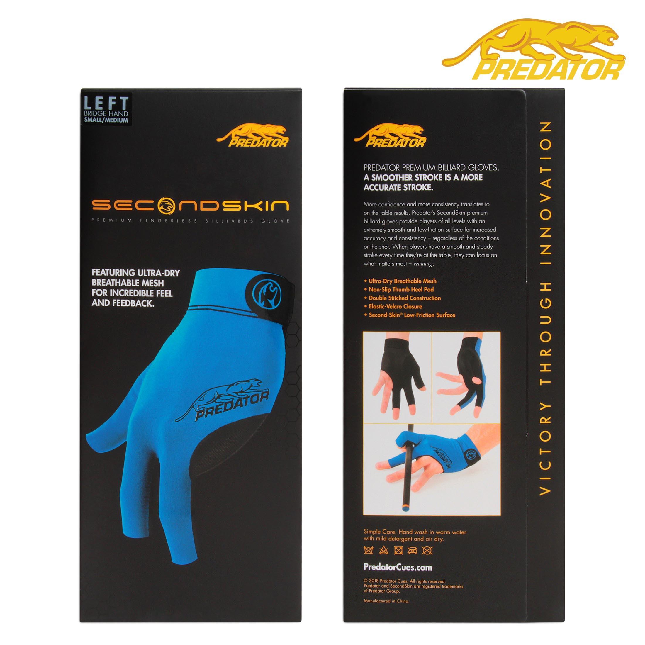 Перчатка Predator Second Skin Blue S/M