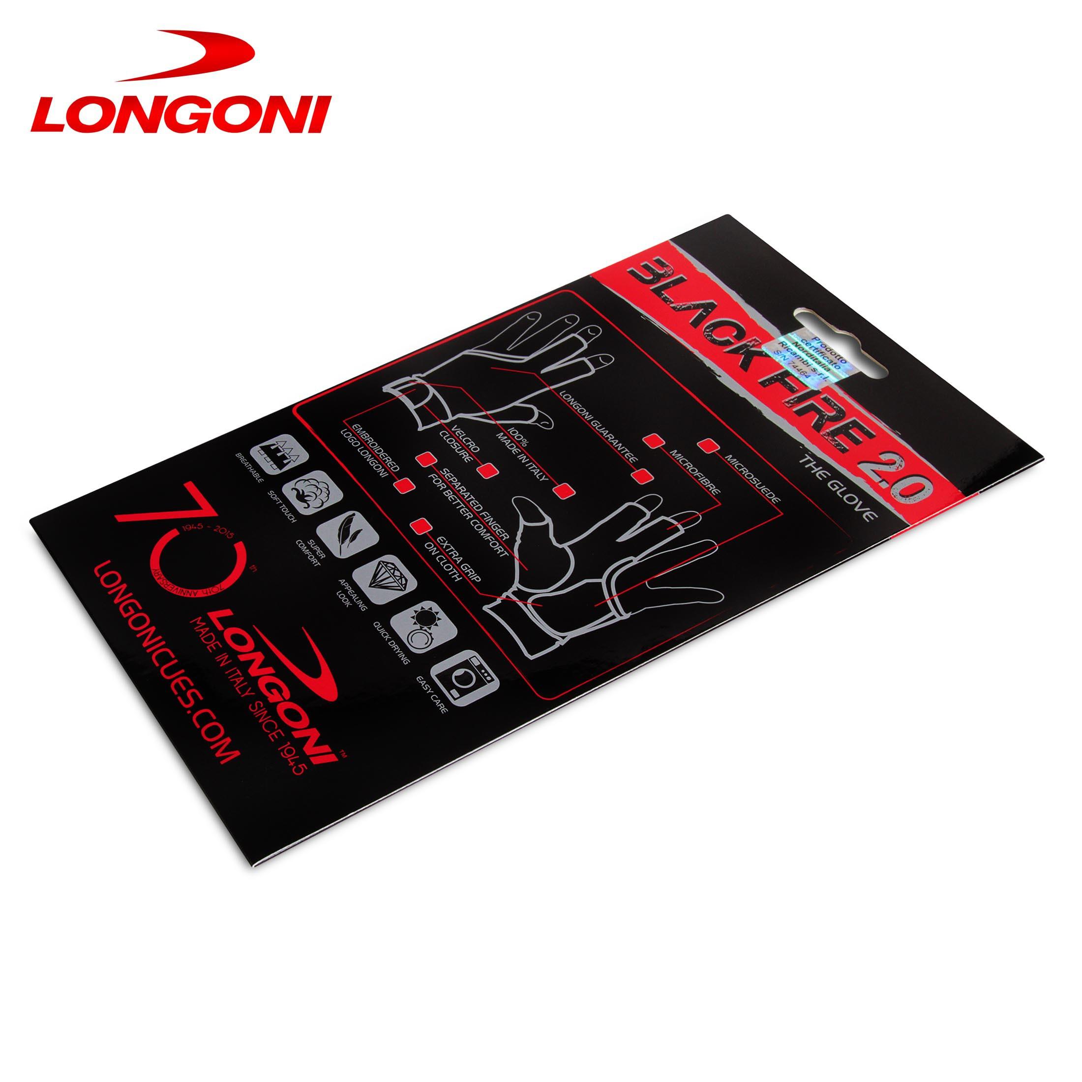 Перчатка Longoni Black Fire 2.0 M