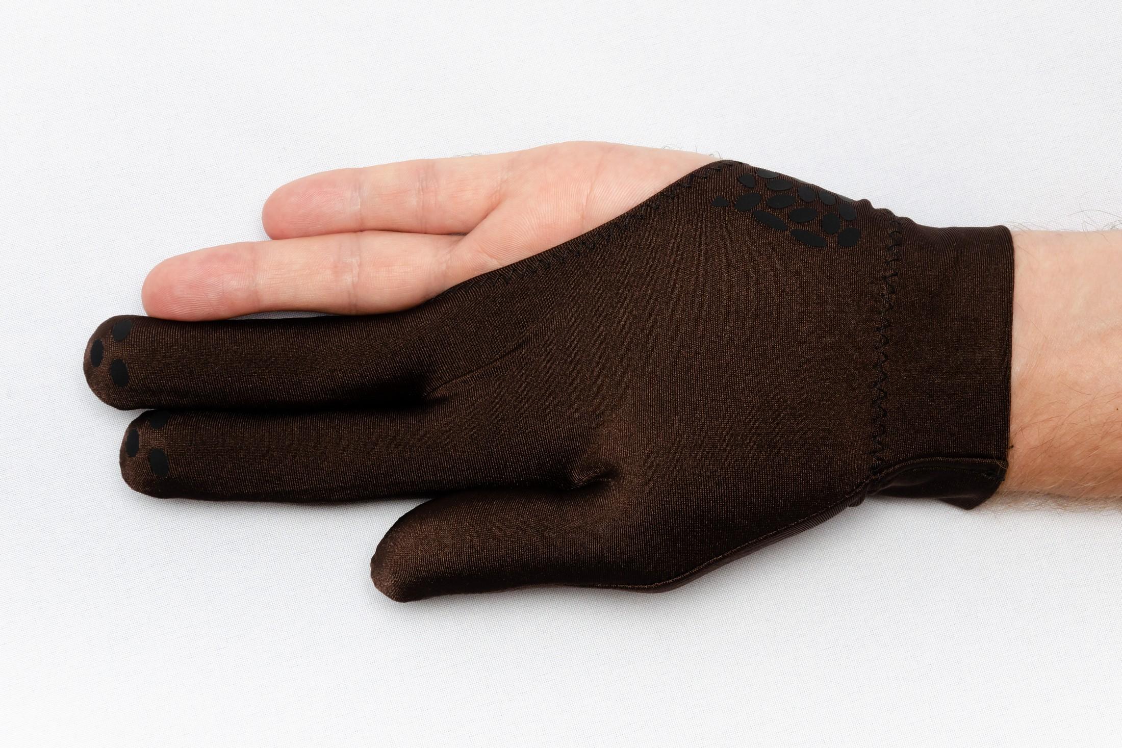 Перчатка Skiba Antiglade коричневая M/L