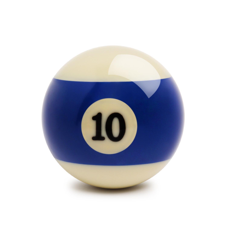 Шар для пула №10 Standard Pool ø57,2мм