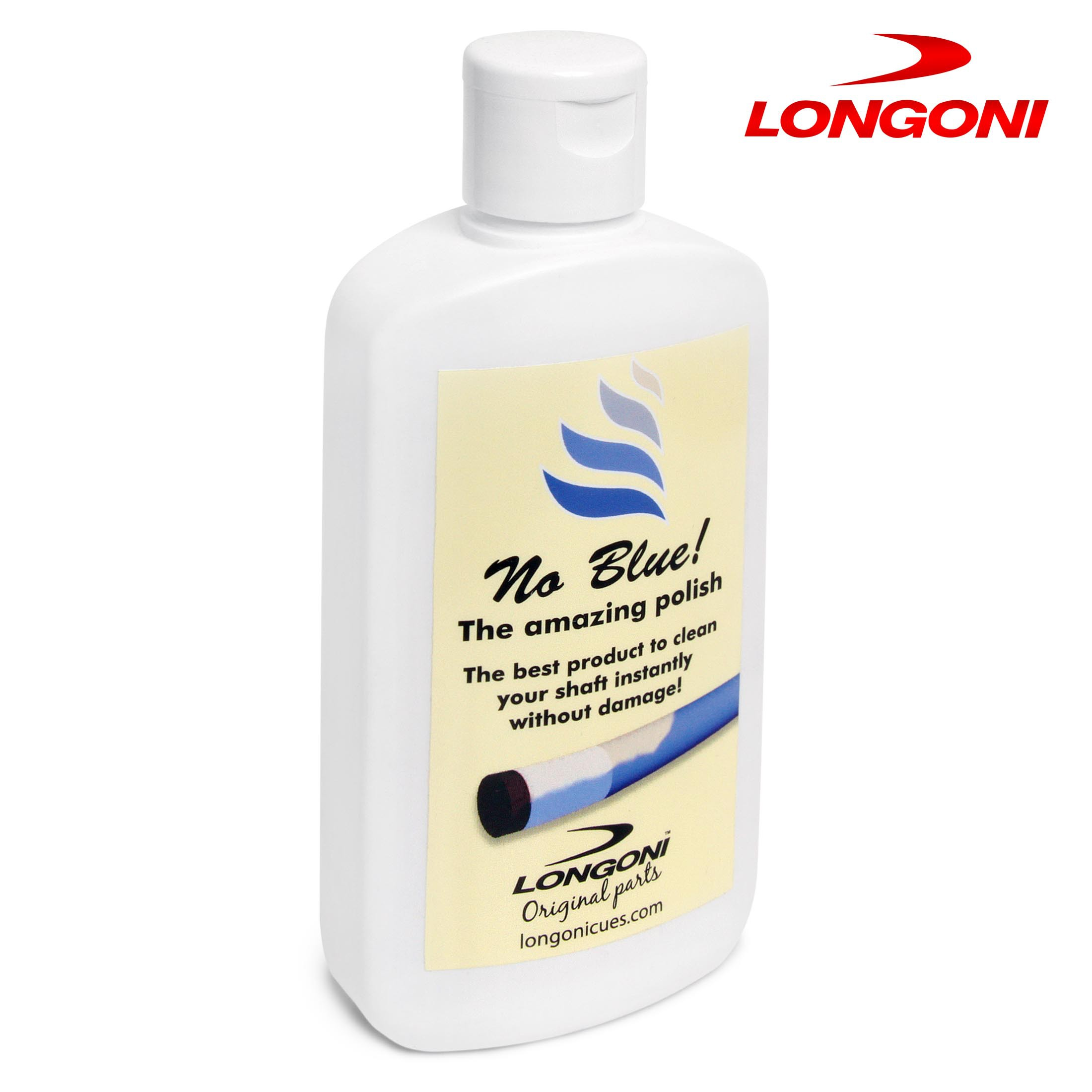 Средство для чистки и полировки кия Longoni No Blue 150мл