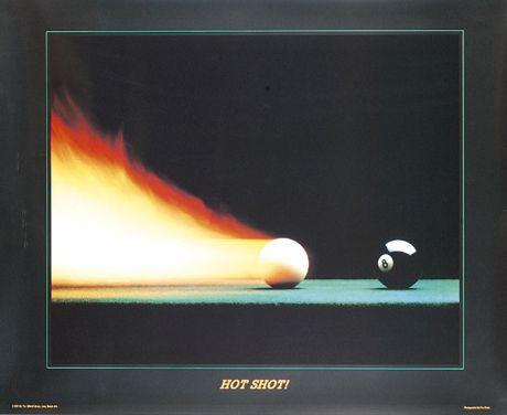Постер HOT SHOT 77×62см