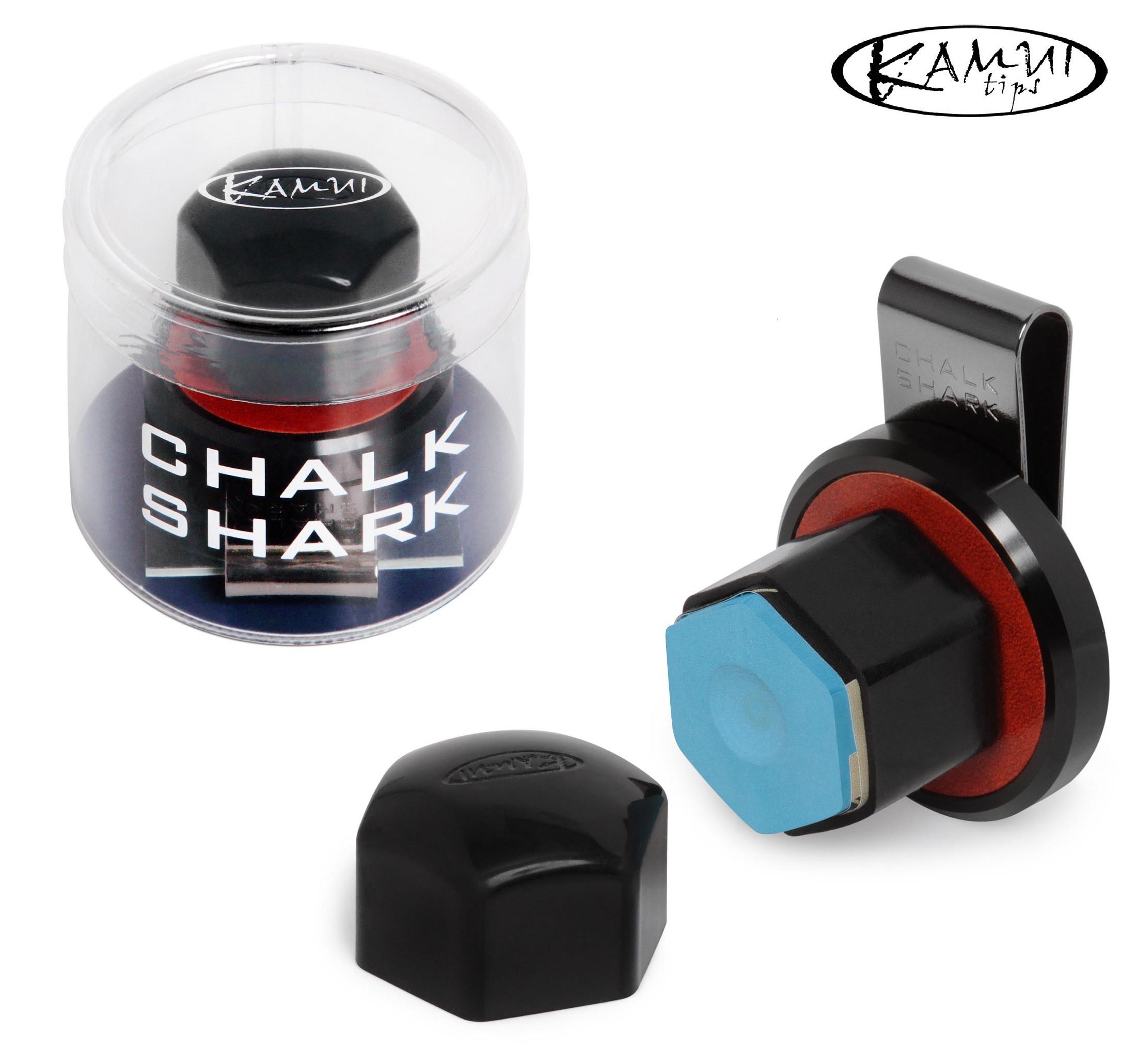 Держатель для мела Kamui Roku Chalk Shark магнитный коричневый